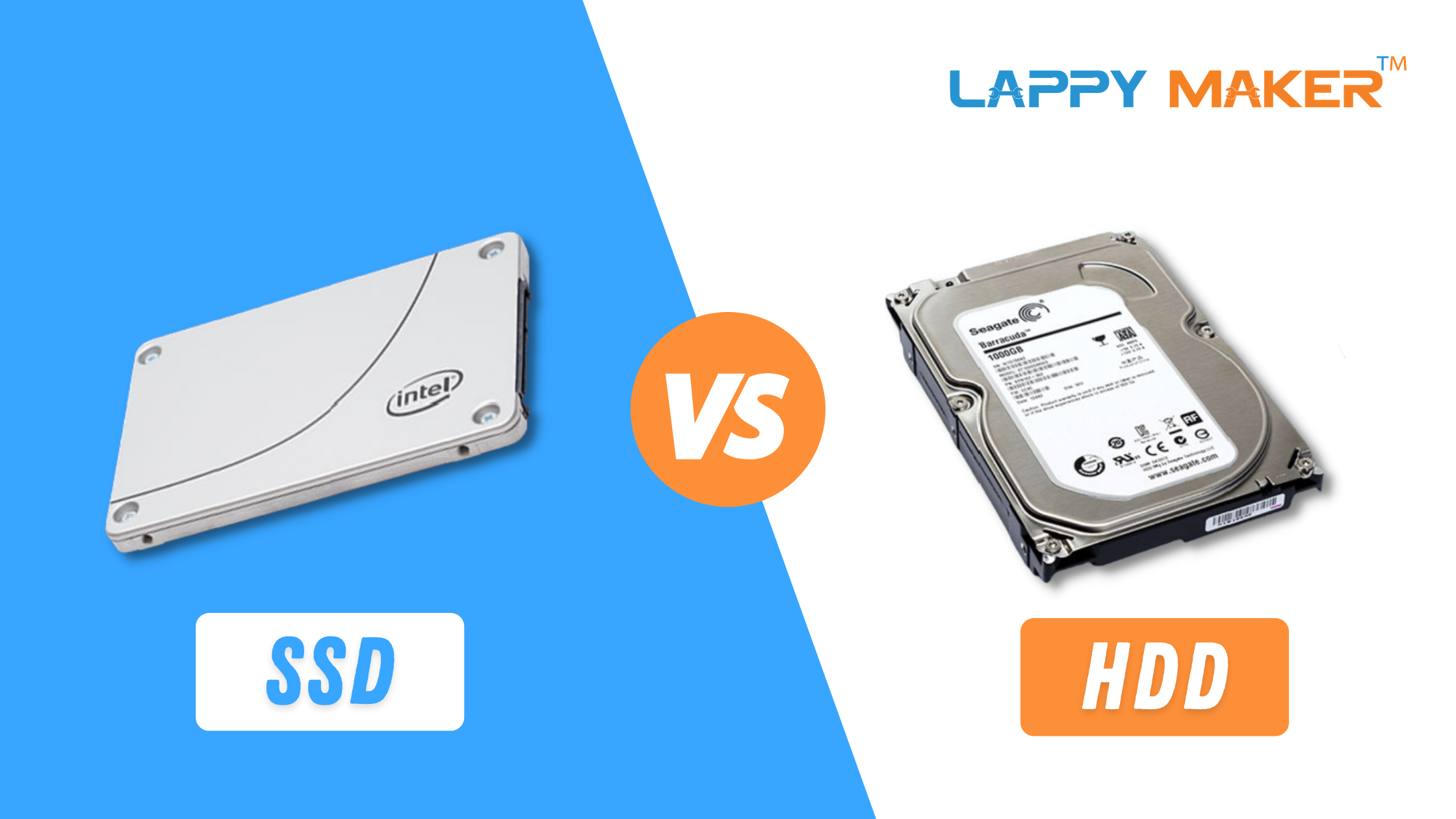 SSD vs HDD: Which One Should You Choose & Why? | Lappy Maker